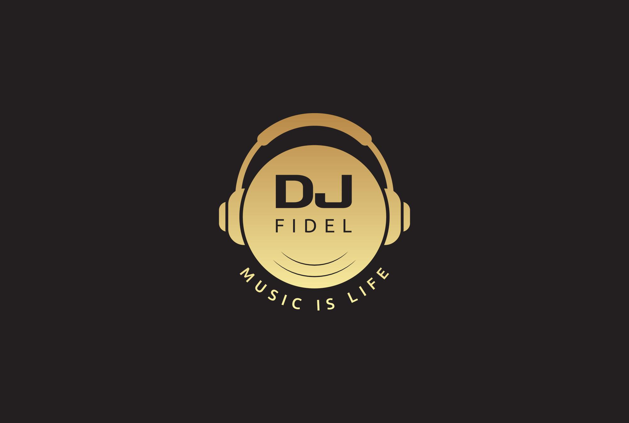 DJ-Fidel-Logo-A3 Mock-up
